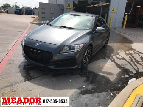 2016 Honda CR-Z for sale in Fort Worth, TX