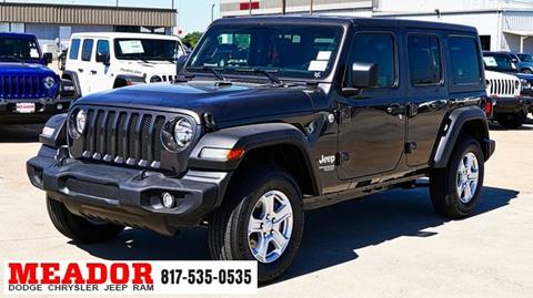 2019 Jeep Wrangler Unlimited for sale in Fort Worth, TX