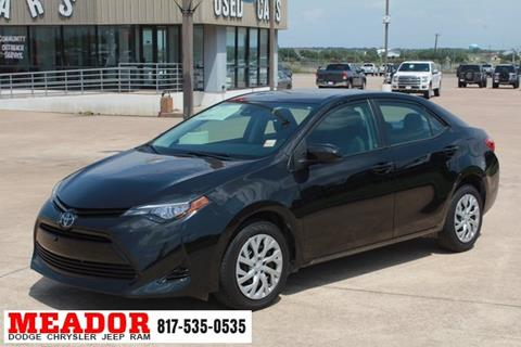 2017 Toyota Corolla for sale in Fort Worth, TX