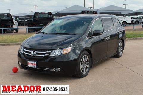 2015 Honda Odyssey for sale in Fort Worth, TX