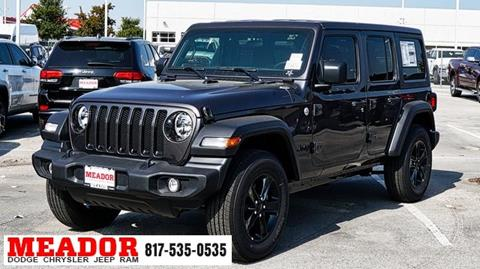 2020 Jeep Wrangler Unlimited for sale in Fort Worth, TX