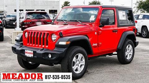 2020 Jeep Wrangler for sale in Fort Worth, TX