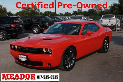 2016 Dodge Challenger for sale in Fort Worth, TX