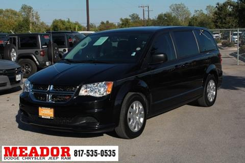 2018 Dodge Grand Caravan for sale in Fort Worth, TX