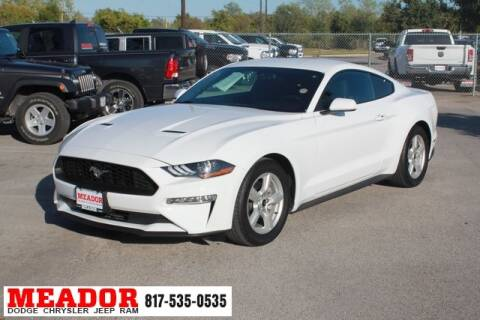 2018 Ford Mustang for sale in Fort Worth, TX
