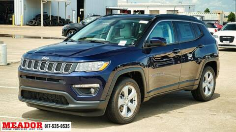 2020 Jeep Compass for sale at Meador Dodge Chrysler Jeep RAM in Fort Worth TX