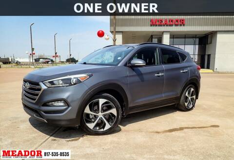 2016 Hyundai Tucson for sale at Meador Dodge Chrysler Jeep RAM in Fort Worth TX