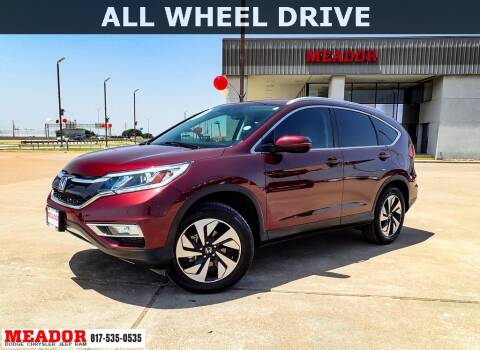 2016 Honda CR-V for sale at Meador Dodge Chrysler Jeep RAM in Fort Worth TX