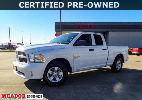 2019 RAM Ram Pickup 1500 Classic for sale at Meador Dodge Chrysler Jeep RAM in Fort Worth TX