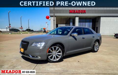 2019 Chrysler 300 for sale at Meador Dodge Chrysler Jeep RAM in Fort Worth TX