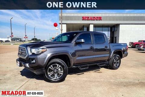 2019 Toyota Tacoma for sale at Meador Dodge Chrysler Jeep RAM in Fort Worth TX