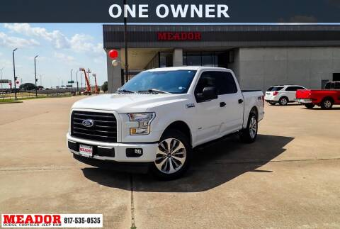 2017 Ford F-150 for sale at Meador Dodge Chrysler Jeep RAM in Fort Worth TX