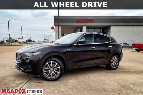 2018 Maserati Levante for sale at Meador Dodge Chrysler Jeep RAM in Fort Worth TX