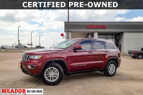 2019 Jeep Grand Cherokee for sale at Meador Dodge Chrysler Jeep RAM in Fort Worth TX