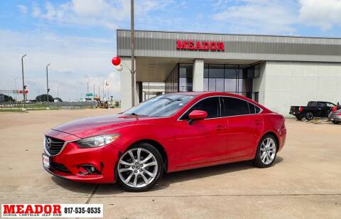 2014 Mazda MAZDA6 for sale at Meador Dodge Chrysler Jeep RAM in Fort Worth TX