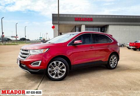 2015 Ford Edge for sale at Meador Dodge Chrysler Jeep RAM in Fort Worth TX