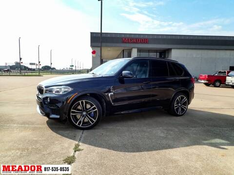 2017 BMW X5 M for sale at Meador Dodge Chrysler Jeep RAM in Fort Worth TX