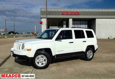 2016 Jeep Patriot for sale at Meador Dodge Chrysler Jeep RAM in Fort Worth TX