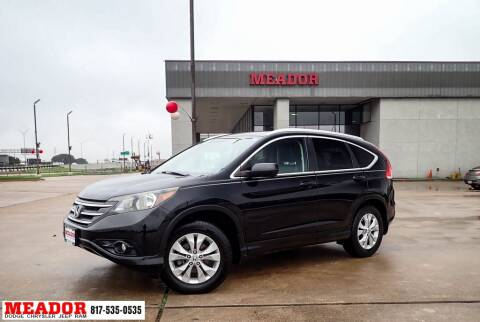 2013 Honda CR-V for sale at Meador Dodge Chrysler Jeep RAM in Fort Worth TX