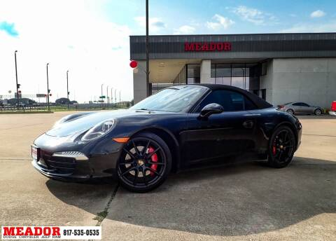 2015 Porsche 911 for sale at Meador Dodge Chrysler Jeep RAM in Fort Worth TX