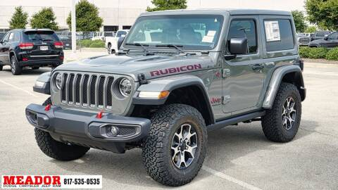 2021 Jeep Wrangler for sale at Meador Dodge Chrysler Jeep RAM in Fort Worth TX