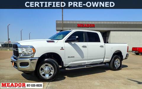 2019 RAM Ram Pickup 2500 for sale at Meador Dodge Chrysler Jeep RAM in Fort Worth TX