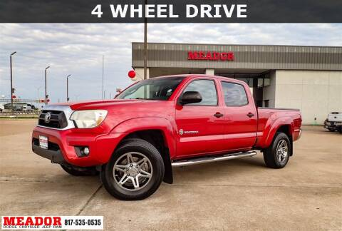 2014 Toyota Tacoma for sale at Meador Dodge Chrysler Jeep RAM in Fort Worth TX