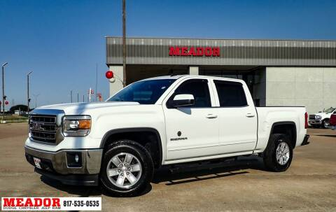 2014 GMC Sierra 1500 for sale at Meador Dodge Chrysler Jeep RAM in Fort Worth TX