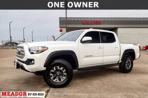 2017 Toyota Tacoma for sale at Meador Dodge Chrysler Jeep RAM in Fort Worth TX