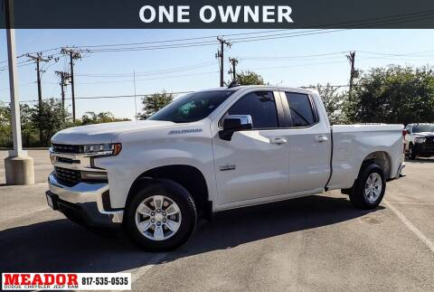 2019 Chevrolet Silverado 1500 for sale at Meador Dodge Chrysler Jeep RAM in Fort Worth TX