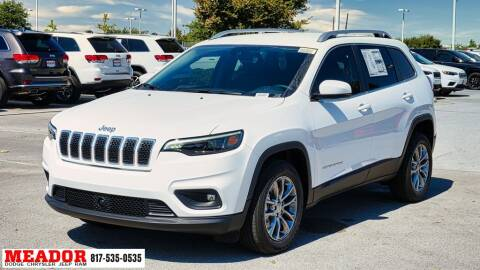 2021 Jeep Cherokee for sale at Meador Dodge Chrysler Jeep RAM in Fort Worth TX
