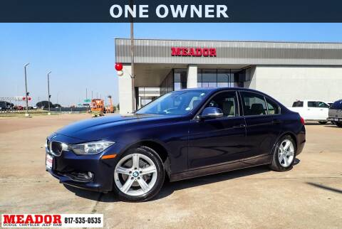 2013 BMW 3 Series for sale at Meador Dodge Chrysler Jeep RAM in Fort Worth TX