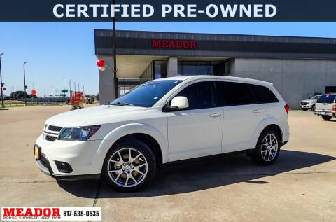 2016 Dodge Journey for sale at Meador Dodge Chrysler Jeep RAM in Fort Worth TX