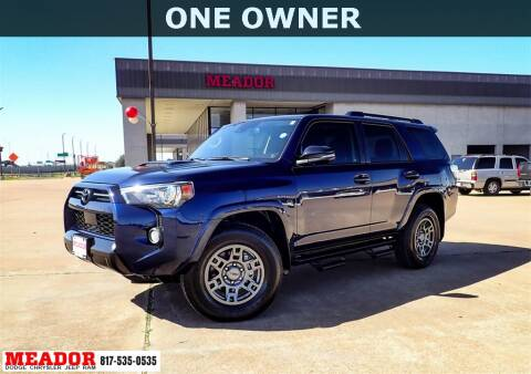 2020 Toyota 4Runner for sale at Meador Dodge Chrysler Jeep RAM in Fort Worth TX