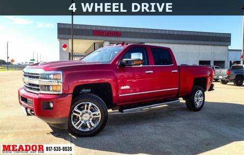 2018 Chevrolet Silverado 2500HD for sale at Meador Dodge Chrysler Jeep RAM in Fort Worth TX