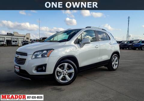 2015 Chevrolet Trax for sale at Meador Dodge Chrysler Jeep RAM in Fort Worth TX