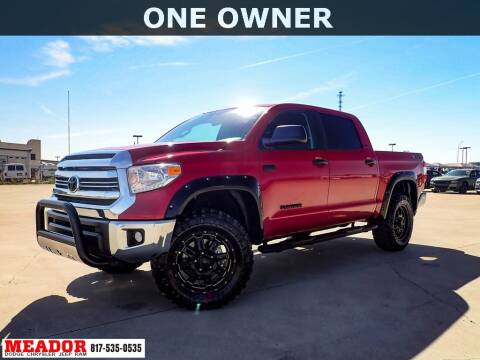 2016 Toyota Tundra for sale at Meador Dodge Chrysler Jeep RAM in Fort Worth TX