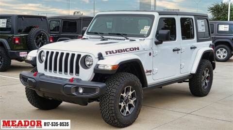 2021 Jeep Wrangler Unlimited for sale at Meador Dodge Chrysler Jeep RAM in Fort Worth TX