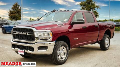 2020 RAM Ram Pickup 2500 for sale at Meador Dodge Chrysler Jeep RAM in Fort Worth TX