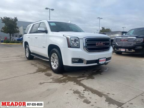 2015 GMC Yukon for sale at Meador Dodge Chrysler Jeep RAM in Fort Worth TX