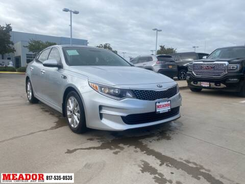 2018 Kia Optima for sale at Meador Dodge Chrysler Jeep RAM in Fort Worth TX