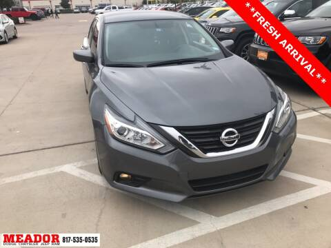 2017 Nissan Altima for sale at Meador Dodge Chrysler Jeep RAM in Fort Worth TX