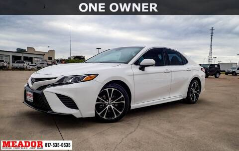2019 Toyota Camry for sale at Meador Dodge Chrysler Jeep RAM in Fort Worth TX
