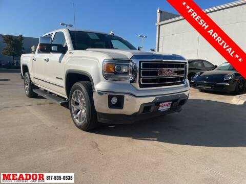 2015 GMC Sierra 1500 for sale at Meador Dodge Chrysler Jeep RAM in Fort Worth TX