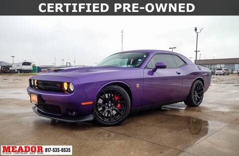 2019 Dodge Challenger for sale at Meador Dodge Chrysler Jeep RAM in Fort Worth TX