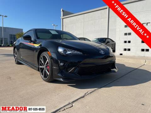 2019 Toyota 86 for sale at Meador Dodge Chrysler Jeep RAM in Fort Worth TX