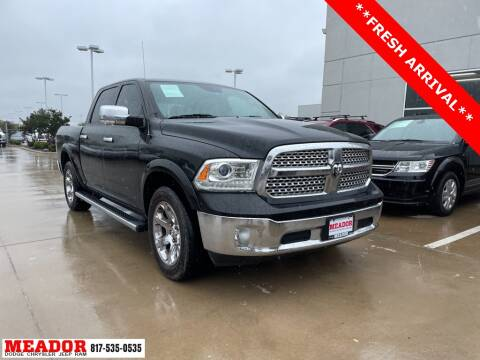 2016 RAM Ram Pickup 1500 for sale at Meador Dodge Chrysler Jeep RAM in Fort Worth TX