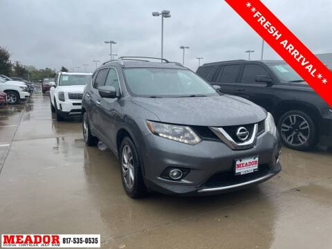 2014 Nissan Rogue for sale at Meador Dodge Chrysler Jeep RAM in Fort Worth TX