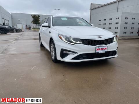 2019 Kia Optima for sale at Meador Dodge Chrysler Jeep RAM in Fort Worth TX