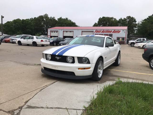 2006 Ford Mustang for sale at Fast Action Auto in Des Moines IA